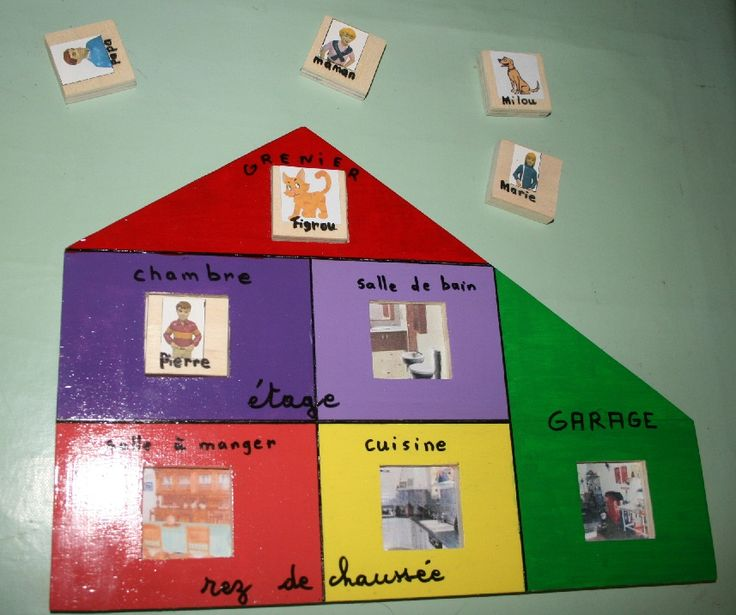 Le jeu de la maison lecture et logique simplement g nial french as a second language - Jeu de creation de maison ...