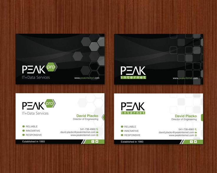 Business Card Design 28 Service Provider