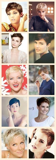 A BEAUTIFUL LITTLE LIFE: Perfect Pixie Cuts for Summer Good.