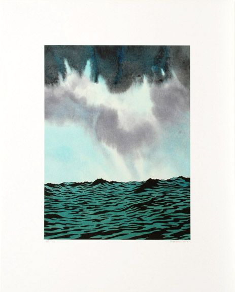 Ken Price: A Thousand Miles From Nowhere, 2004 Digital print 30 x 24 in. / 76.2 x 61 cm. Edition of 75