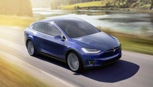 2016 Tesla Model X SUV