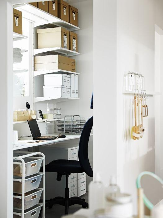 Image Result For Ikea Algot Shelves As Desk Buy Office Furniture