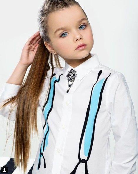 Anastasia Knyazeva, la plus belle petite fille du monde