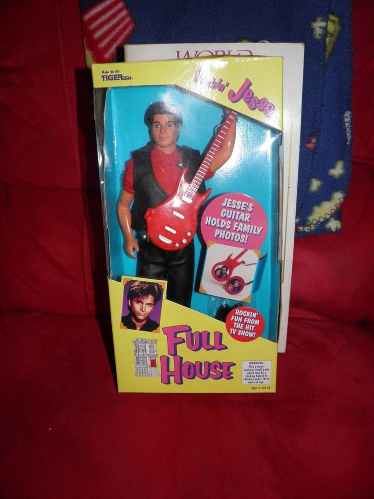 "Jesse John Stamos ~ TV Show Full House Rockin'UNCLE JESSE 12"" DOLL"