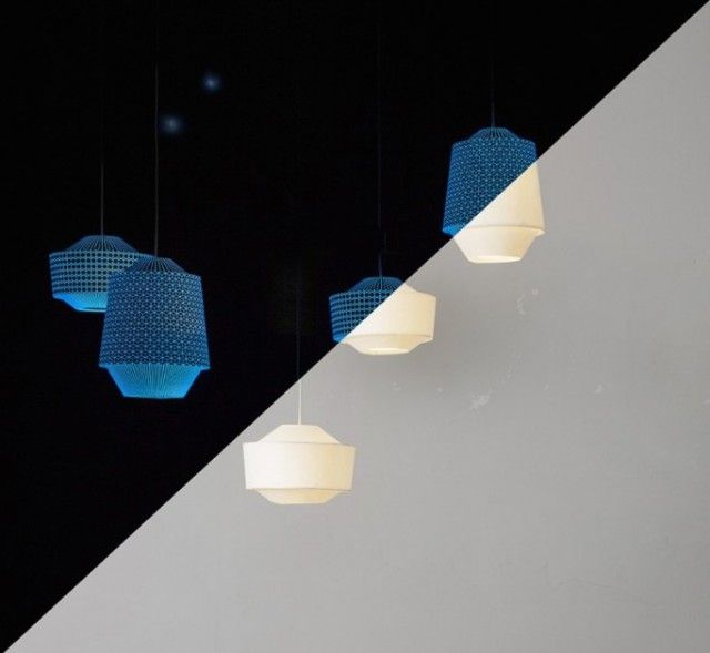 Afterglow Lamp by Ontwerpduo  The Dutch design studio Ontwerpduo presents a two faces lamp, which working day and night. During the day, the Lantern Loena can be used as a source of natural light but as soon as the sun sets, it becomes a source of magical light graceful afterglow.