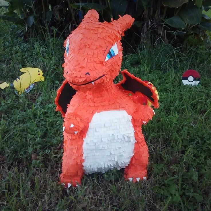pokemon charizard pinata  handmade  birthdaychild