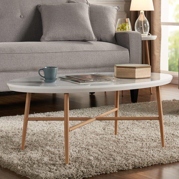 Best Umstead Oval Engineered Wood Coffee Table Living Room 400 x 300