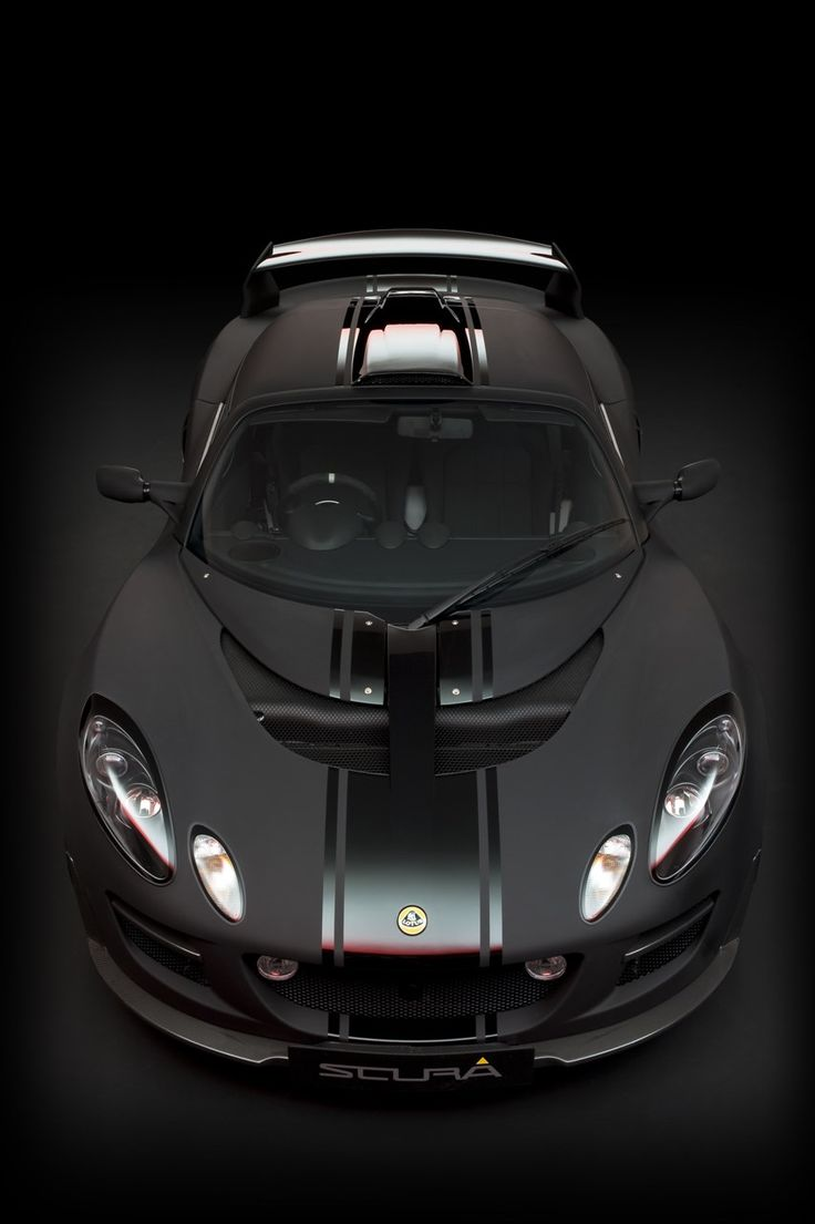 Lotus Exige ScuraMotorcycles, Lotus Exige, Riding, Painting Job, Exige Scura, Matte Black, Flats, Exotic Cars, Dreams Cars