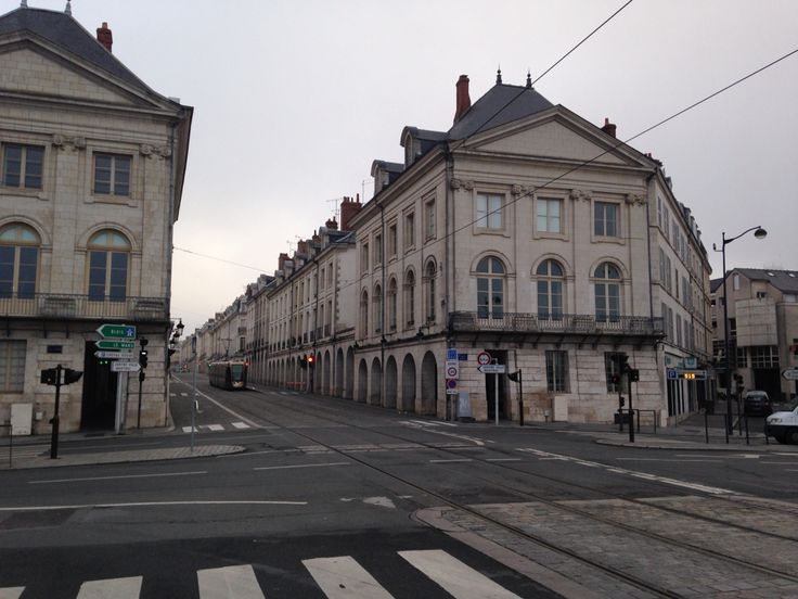 Old Town of Orleans, France. I want to visit again and again.