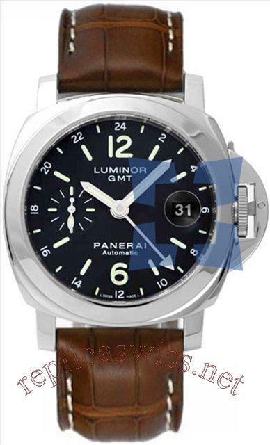 Panerai Luminor GMT 40 mm PAM 00244 Mens Watch Replica