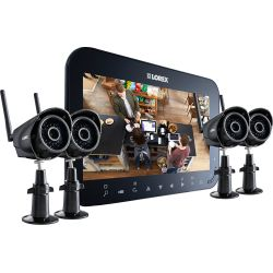 Discount Home security camera system with 7inch monitor and 4 wireless cameras Reviews