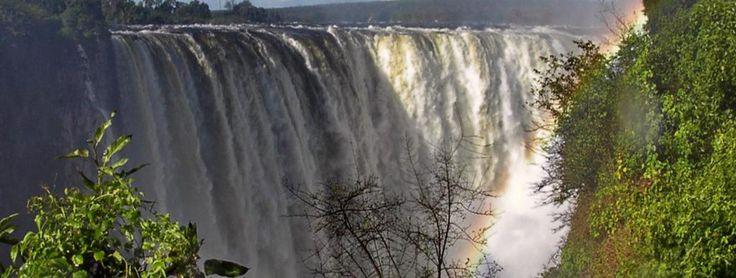 Victoria faalls. Zimbabwe