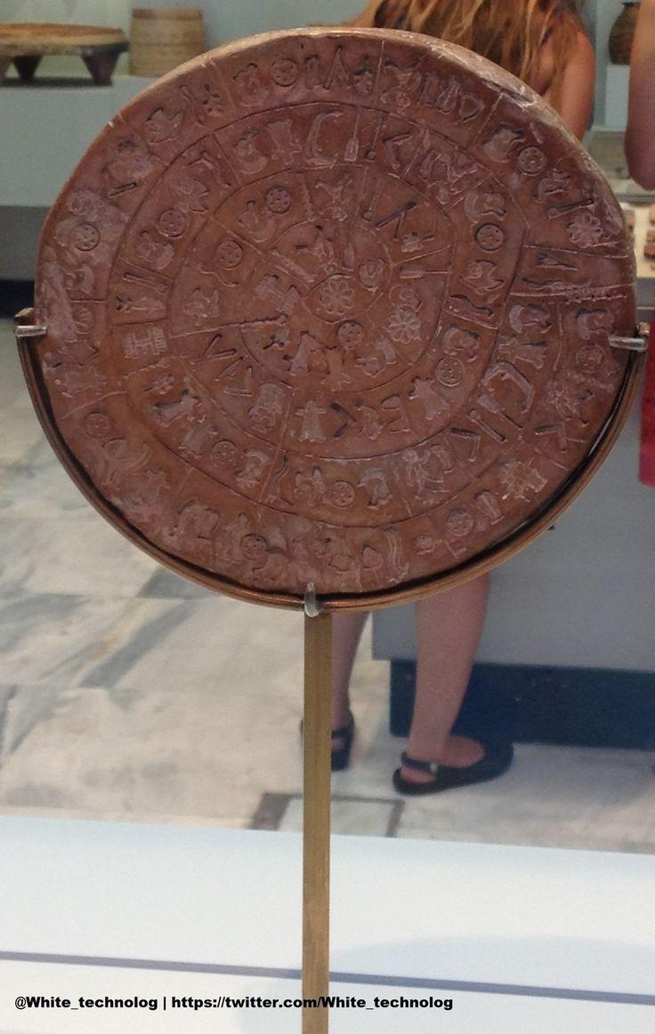 НОВЫЕ ПРАВЫЕ | WHITE Technologies 2033: Авторская колонка: Фестский диск (Археологический ...