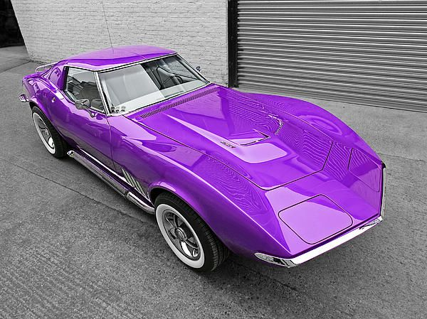purple passion from the sixties a 1968 corvette chevy americanmuscle musclecars chevrolet. Black Bedroom Furniture Sets. Home Design Ideas
