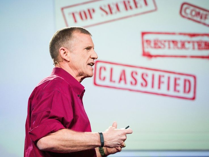 [Video] TED - Stanley McChrystal: The military case for sharing knowledge