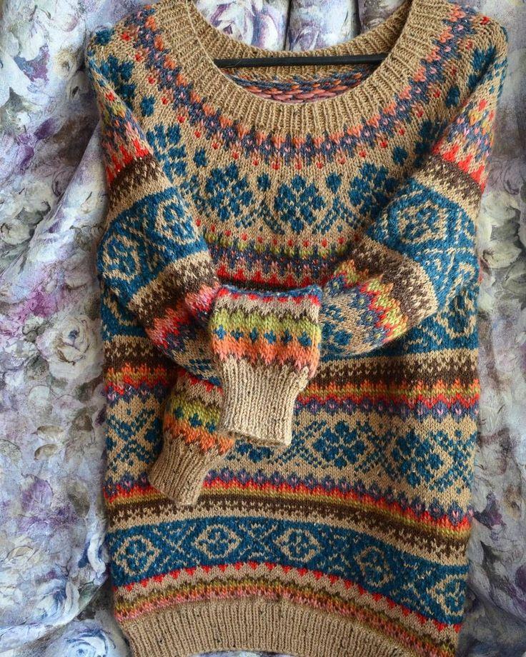 Fairisle Knitting Patterns Jumpers Continue The Fair Isle