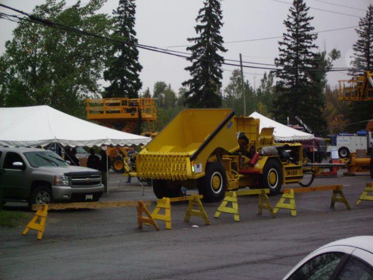 Randy Miller Inspiration Mining Bucket Truck