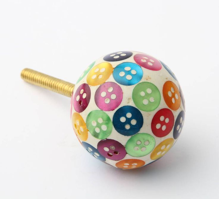 buttons drawer knobs by french grey interiors   notonthehighstreet.com