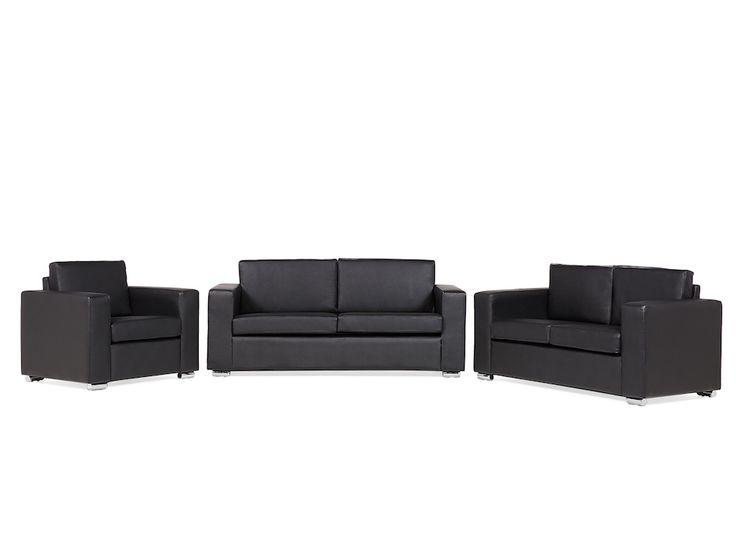 VELAGO - HELSING Leather Sofa Set