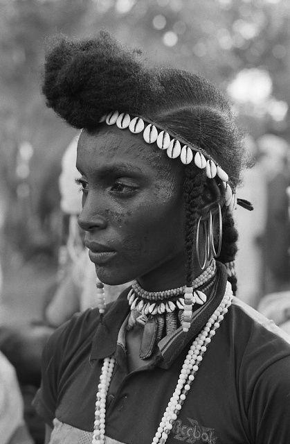 "beautiesofafrique: "" Wodaabe people || Chad, Central Africa || © Marie-Laure de Decker """