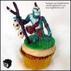 DOTA Cupcake_Defense Against the Ancients_Gaming Cupcake_Gamers_Geeky Cupcake_Geek_Witch Doctor Cupcake_Voodoo 1