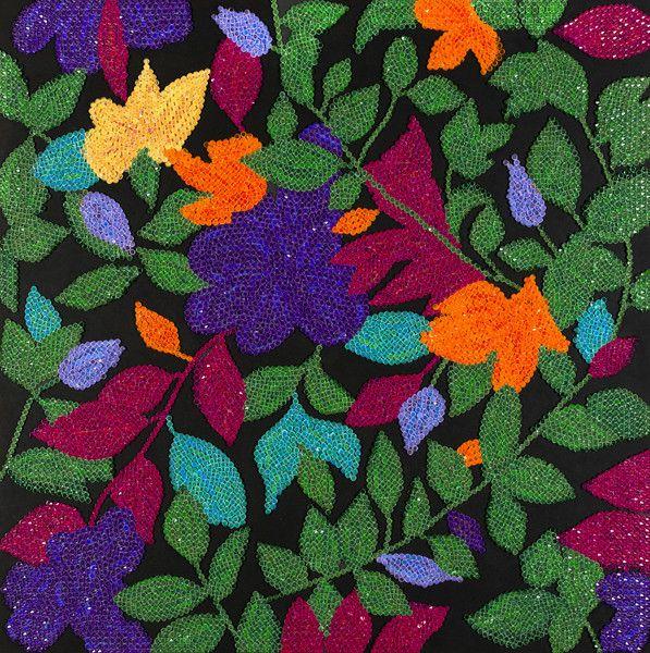 Wiosenny ogród w INDYA na DaWanda.com