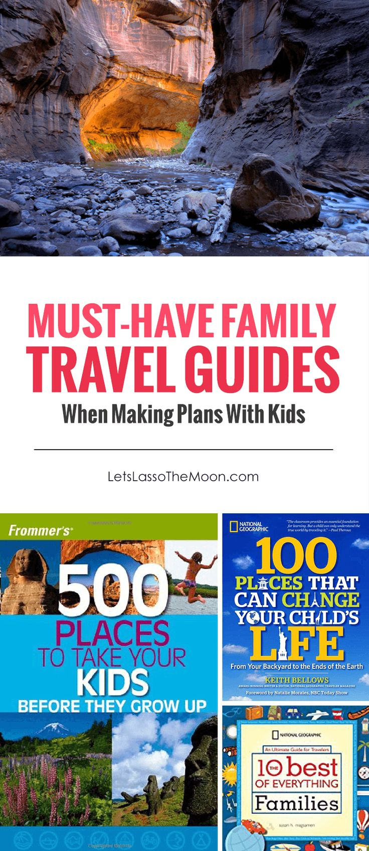 Must-Have Family Travel Guides #Travel #FamilyTravel *Great list of resources for parents planning vacations and travels!