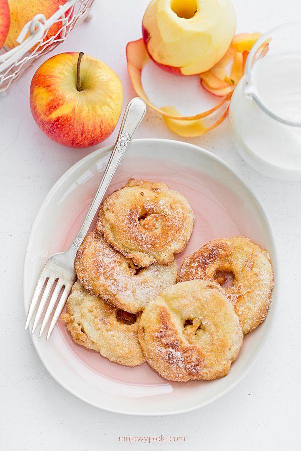 Moje Wypieki | Jabłka w cieście naleśnikowym