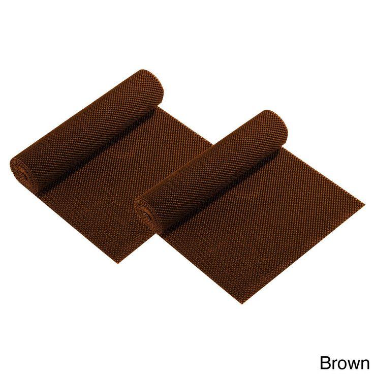 Shelf Liners (Set of 2) (Anti-slip Mat Brown 2pk)