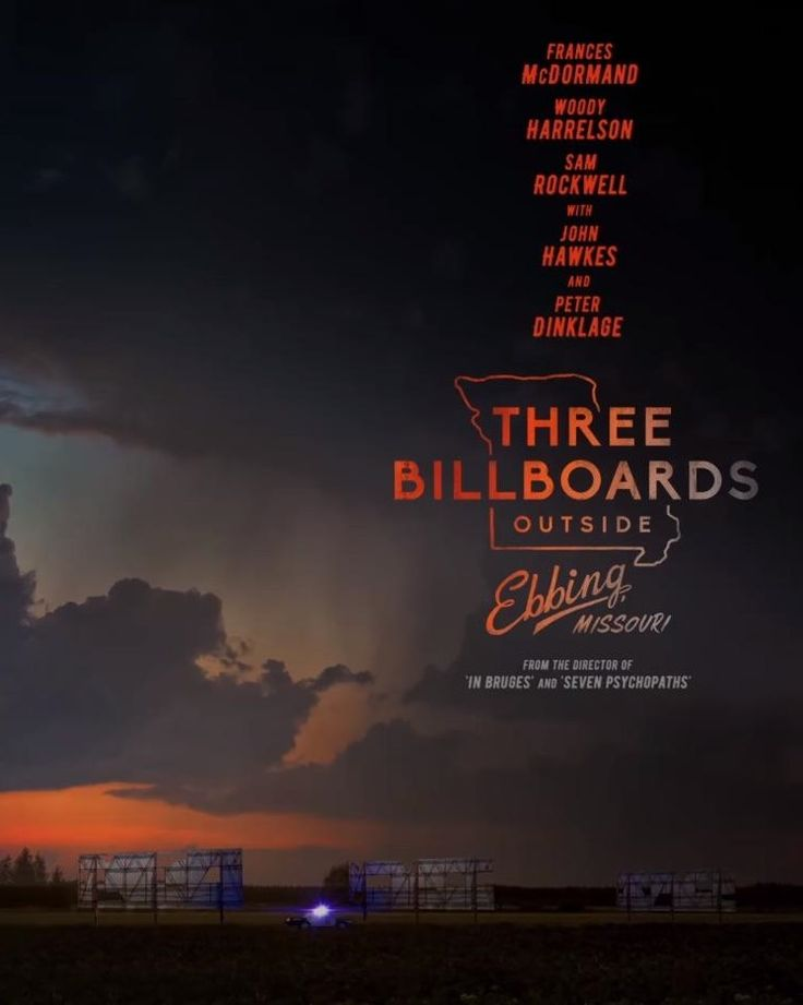 Martin McDonagh's Three Billboards Outside Ebbing, Missouri gets a poster | Live for Films