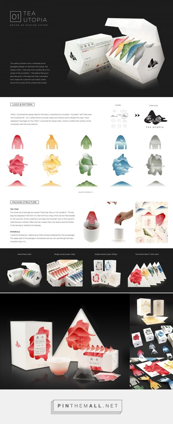 Tea Utopia - Packaging of the World - Creative Package Design Gallery - http://www.packagingoftheworld.com/2017/07/tea-utopia.html - created via https://pinthemall.net