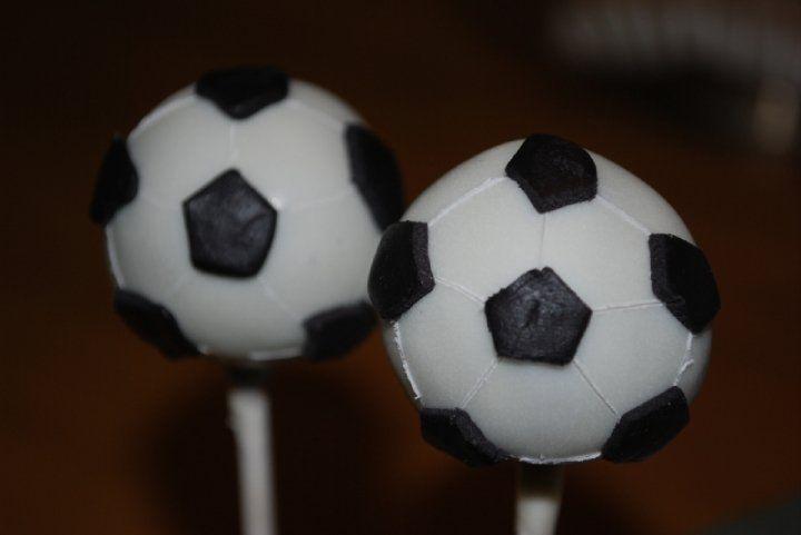 Cake Pops Bola de Futebol  7fd897628dd68