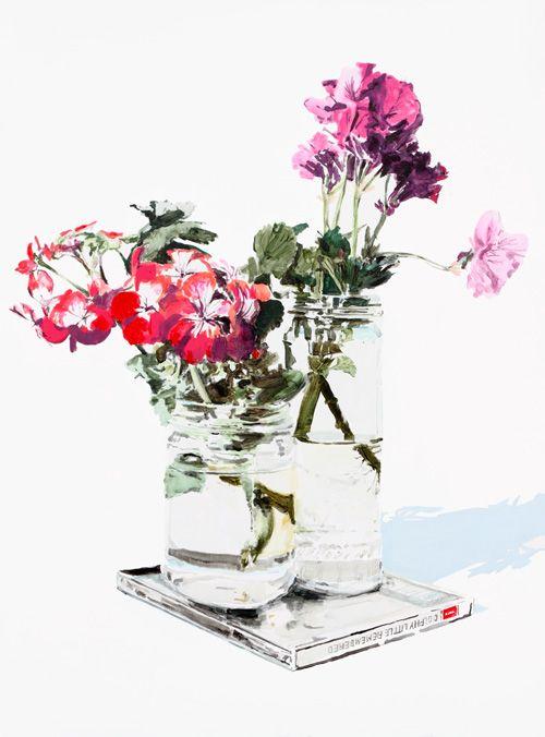 still life 2010 by dane lovettMelbourne Artists, Watercolors, Still Life, Art Ideas, Design Art, Danes Lovett, Life 2010, Water Colors, Flower