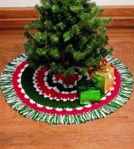 113 best Crochet Christmas Tree Skirt images on Pinterest ...