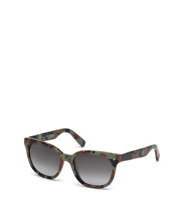 Tendance lunettes : Occhiale da sole uomo  DSQUARED2 DQ0148 Verde  Primavera Estate  tit