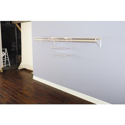 closet helper shelf and hang unit 2
