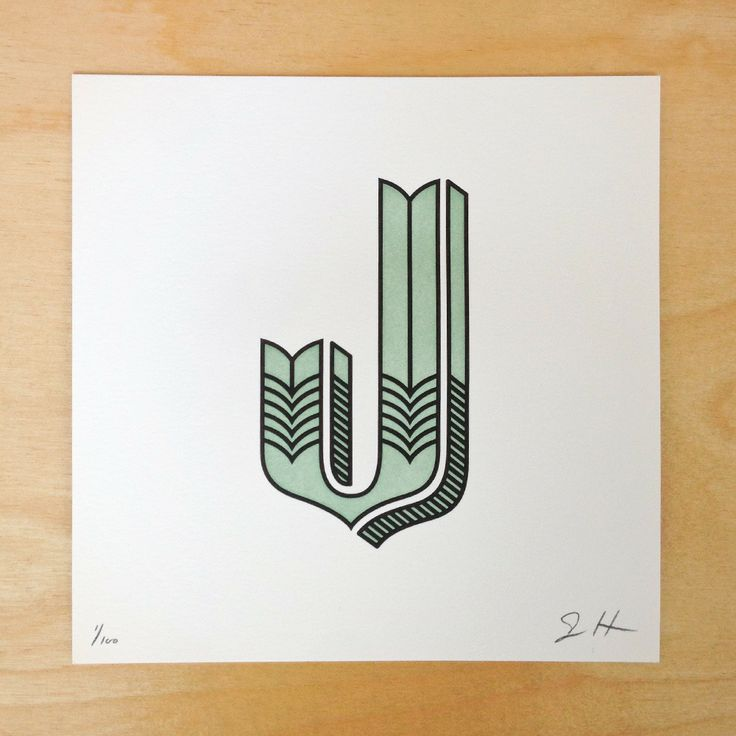 View image 2: Letterpresses Prints, 2Nd Letterpresses, Jessicahisch, View Image, Hische Dropcap, Casa Smart, Contemporary Art, Heart Beats, Jessica Hische