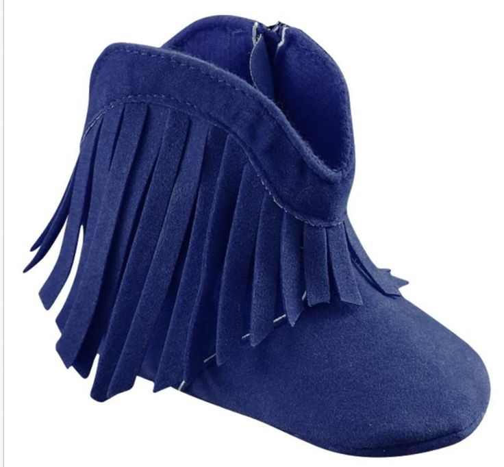"""""""Fringe boots"""" - nas cores Cofee, Navy, Nude, Pink, Vermelho"""