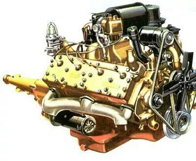 337 Cid Engines V8 Flathead Ohc Dohc Pinterest