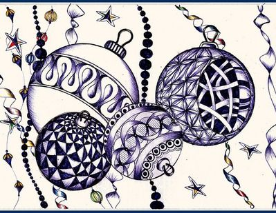 24 best zentangle angels images on pinterest christmas cards