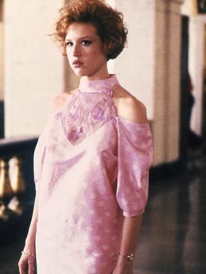 Molly Ringwald as Andie in Pretty In Pink, 1986