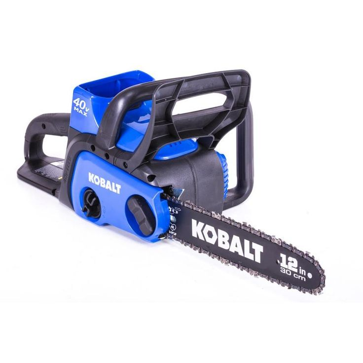Kobalt 40-volt Max Lithium Ion 12-in Cordless Electric Chainsaw (Battery Included)