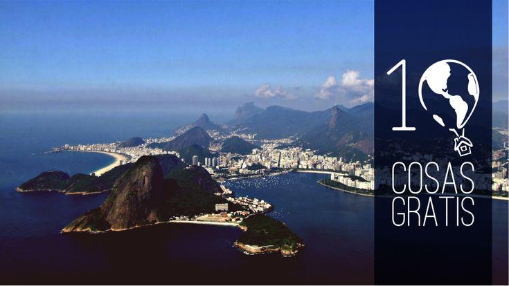 10 cosas gratis que hacer en Rio de Janeiro #rio #brasil