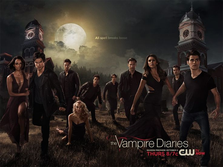 The Vampire Diaries Season 6 cast 1200x900 wallpaper