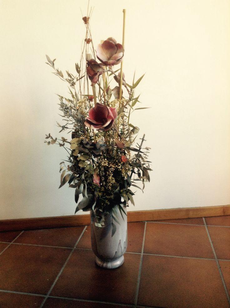 1000 images about jarrones de flores secas on pinterest - Jarrones flores artificiales ...