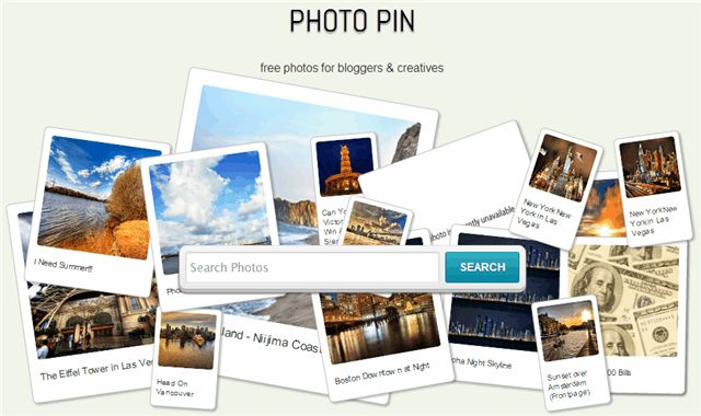 Photo Pin. Para buscar imágenes con licencia Creative Commons
