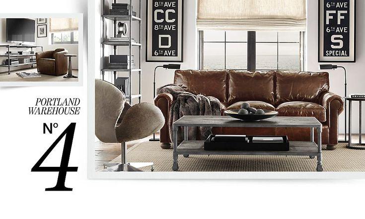 Living Room Restoration Hardware Home Pinterest