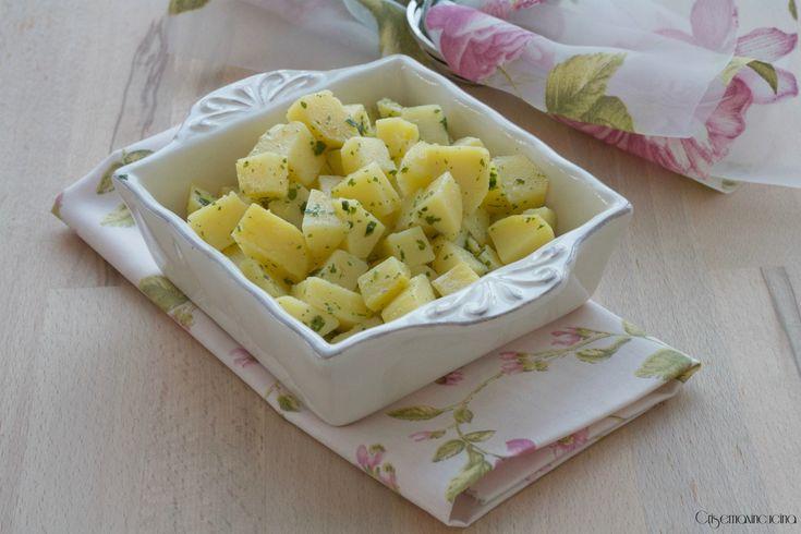 insalata di patate al vapore