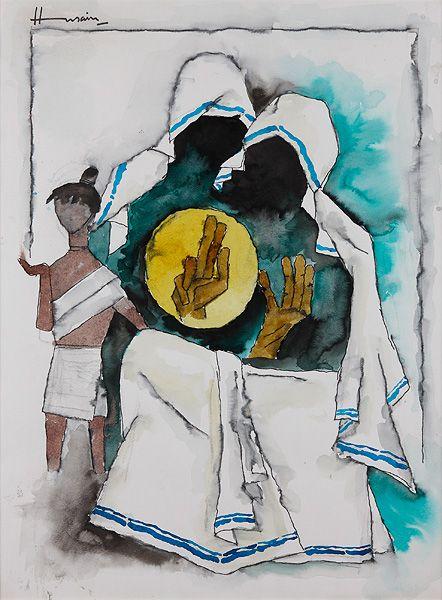 M F Hussain I Saffronart Winter Auction I #Indian #Art #Fine Art #Saffronart #Auction