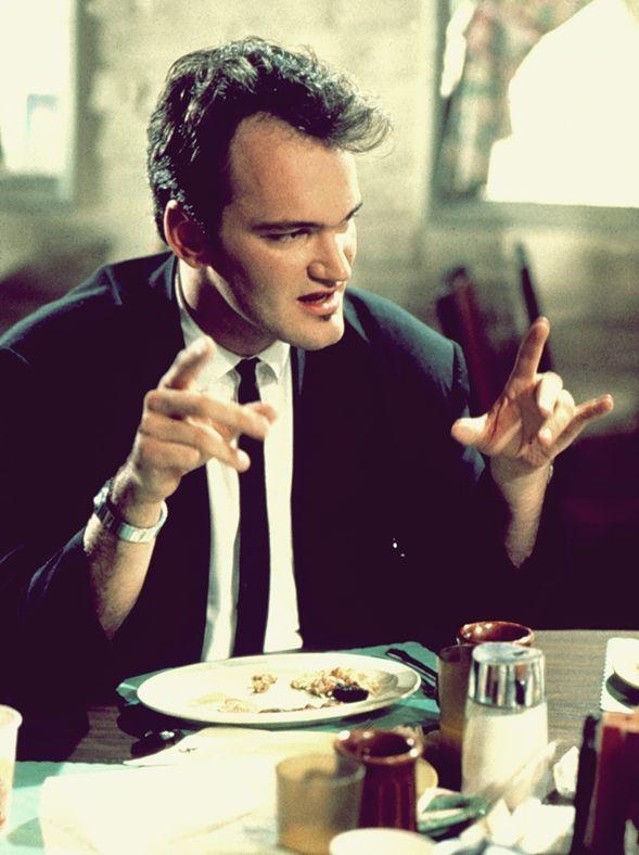 "Quentin Tarantino, ""Mr.Brown"", Reservoir Dogs, 1992"